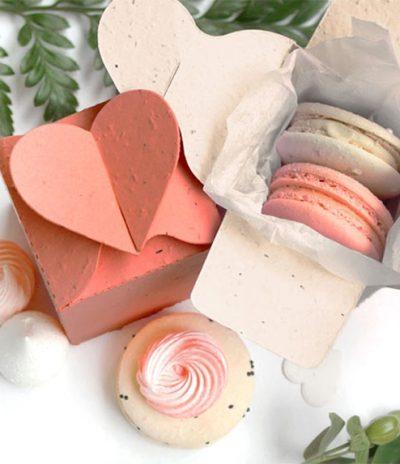 Heart Plantable Box for Wedding Favors