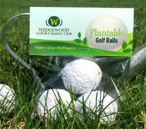 Seedbombs - Golf balls