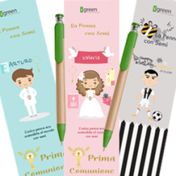 Pen with seeds Favor